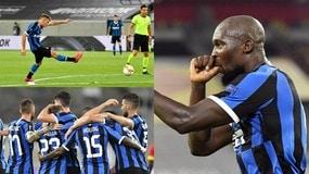 Perla di Barella, Lukaku col ciuccio: l'Inter vola in semifinale di Europa League