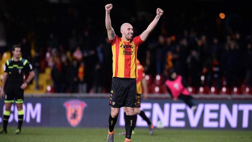 Benevento, solo Glik e Caldirola: in difesa serve sfoltire