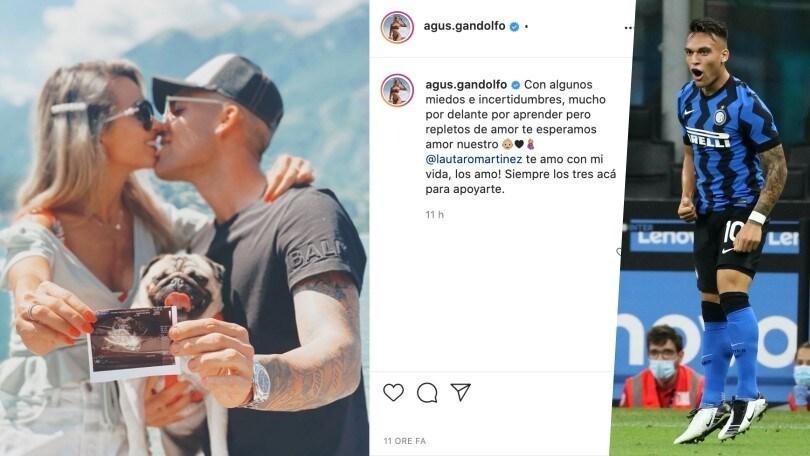 Inter, Lautaro diventerà papà: Agustina è incinta
