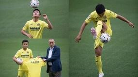 Kubo, che show alla presentazione col Villarreal!