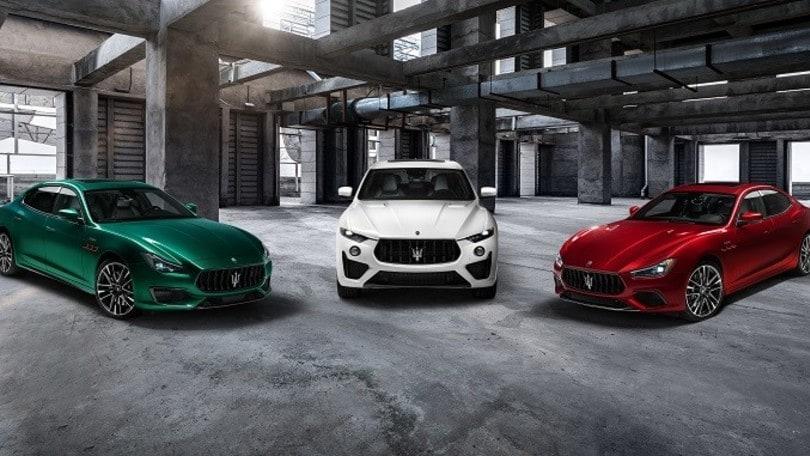 Maserati Trofeo Collection, Ghibli e Quattroporte insieme a Levante