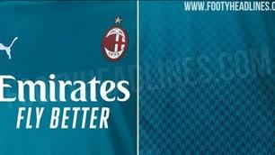 Milan, le indiscrezioni sulla terza maglia 2020-21