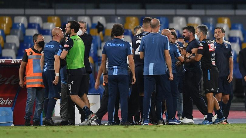 Lazio, lascia il fisioterapista Maggi: offese Gattuso