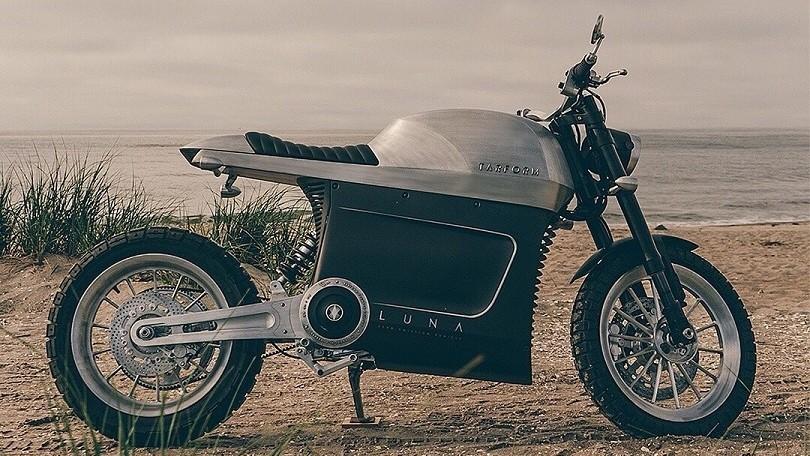 Tarform Luna: la moto elettrica vegana, reciclabile e compostabile