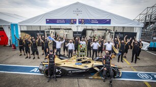 Formula E ePrix Berlino Round 11: la festa al Tempelhof FOTO
