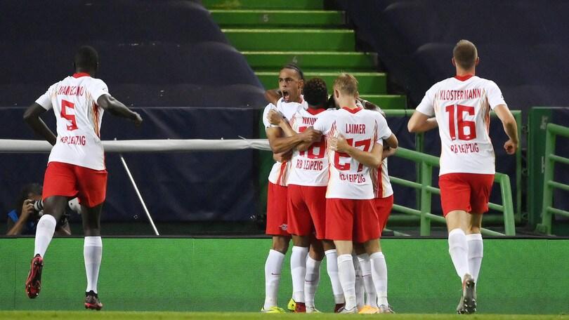 Lipsia-Atletico Madrid 2-1: Nagelsmann approda in semifinale di Champions