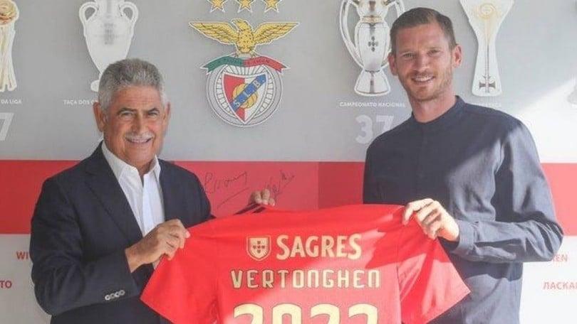 Vertonghen, niente Roma: ufficiale il passaggio al Benfica
