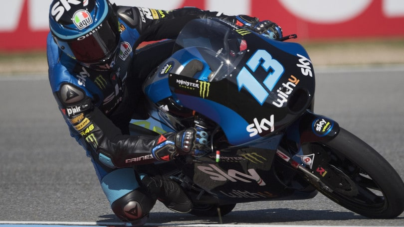 Moto3, Gp Austria: Fernandez centra la pole, Vietti quinto