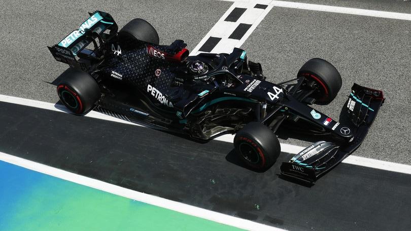 Gp Spagna, Leclerc solo nono in qualifica: Hamilton si prende la pole