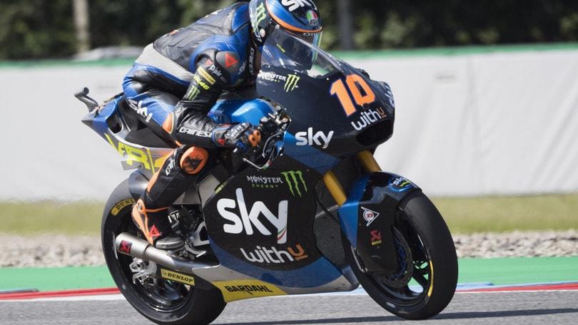 Moto2, Gp Austria: prima vittoria per Martin, Marini leader del Mondiale