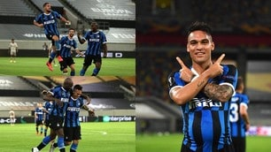Inter, cinquina da urlo e finale di Europa League: show di Lautaro e Lukaku