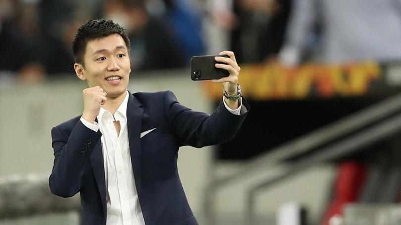"""Inter, Zhang esulta sui social: """"Andiamo in finale!"""""""