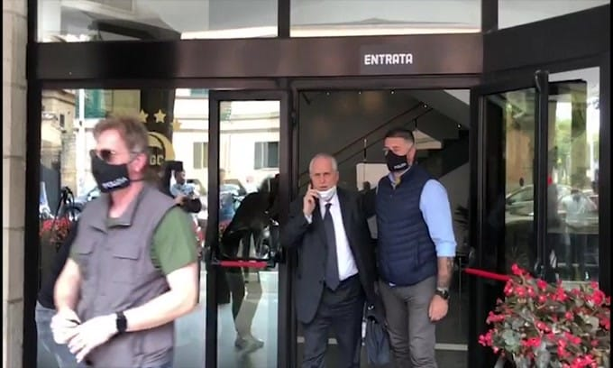 David Silva fa infuriare la Lazio