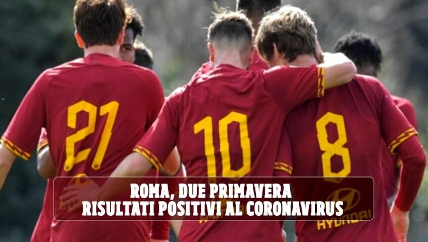 Roma, due Primavera risultati positivi al Coronavirus: stop agli allenamenti