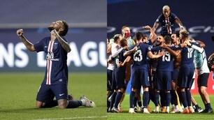 Psg, esplode la gioia di Neymar e compagni per la finale di Champions