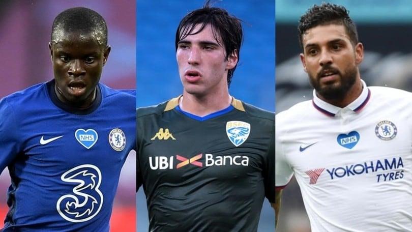 Inter, da Kanté a Tonali: ecco la lista di Conte