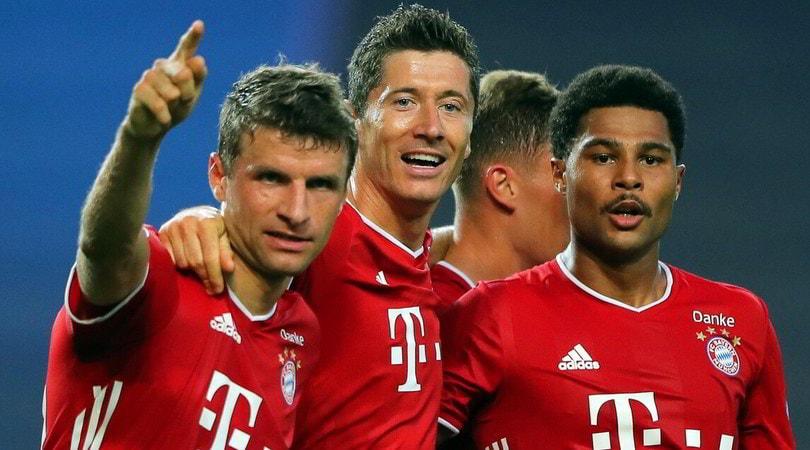 Lione-Bayern 0-3: Gnabry e Lewandowski, è finale col Psg