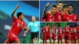 Gnabry e Lewandowski, il Bayern Monaco stende il Lione: è finale