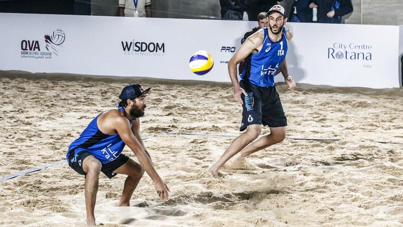 Tre coppie italiane agli Europei di beach volley