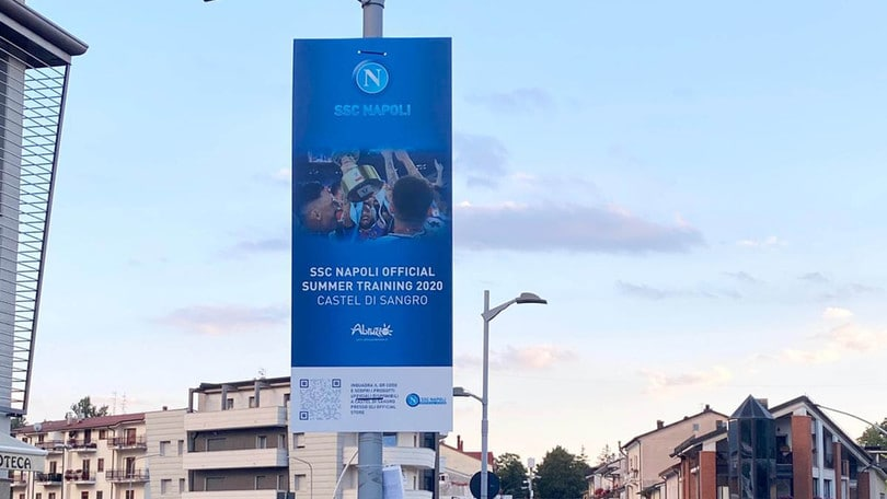 """Napoli in ritiro a Castel di Sangro: """"Nessuna ansia"""""""