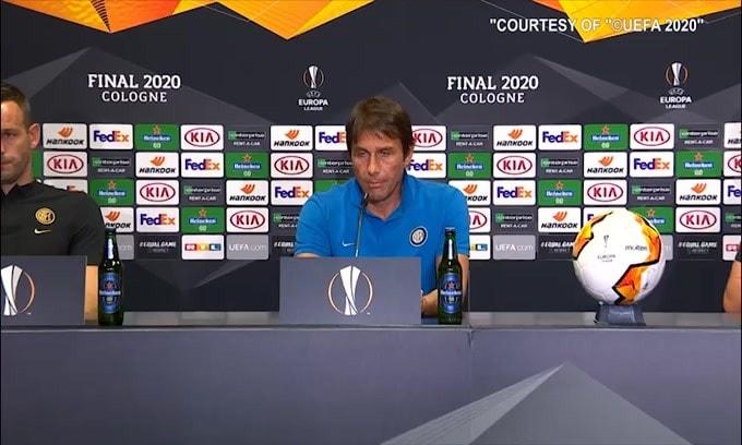 """Conte: """"Daremo tutto per regalare una gioia ai tifosi e al club"""""""