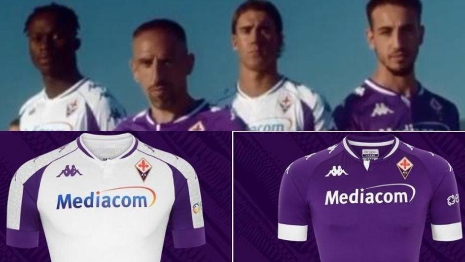 Fiorentina, svelate le nuove divise con Ribery e Castrovilli