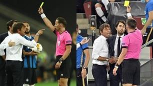 Conte-Banega a muso duro: tensione alle stelle durante Inter-Siviglia