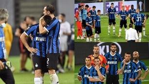 Inter, quante lacrime per il ko con il Siviglia: Lautaro è inconsolabile