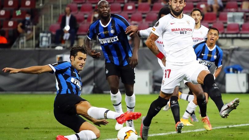 Europa League, Siviglia-Inter è la partita Sky-TV8 più vista di sempre