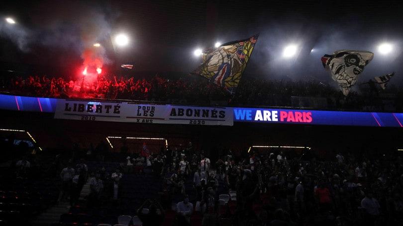 Il Psg apre il Parco dei Principi ai tifosi per assistere alla finale di Champions