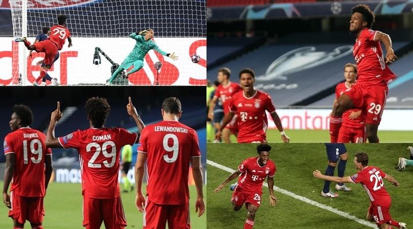 Coman spedisce il Bayern sul tetto d'Europa: Psg ko 1-0