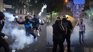 Psg battuto, scoppia la furia dei tifosi a Parigi: incidenti e scontri
