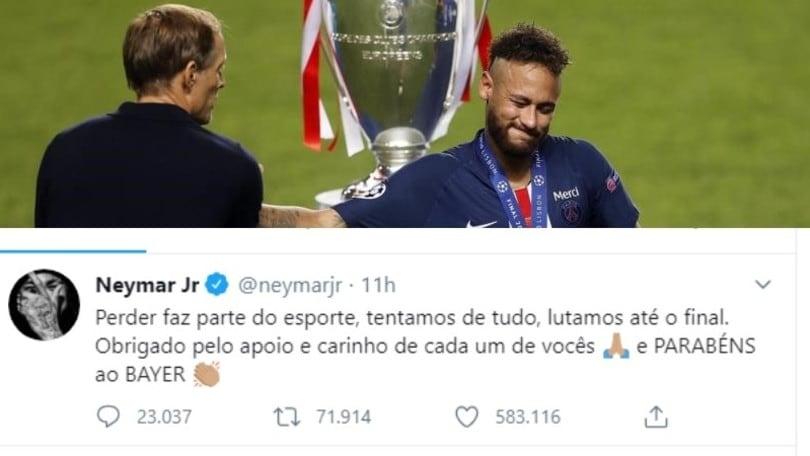 Gaffe Neymar, sbaglia a scrivere Bayern. E il Leverkusen ringrazia!