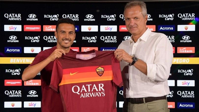Roma, Pedro ha firmato: