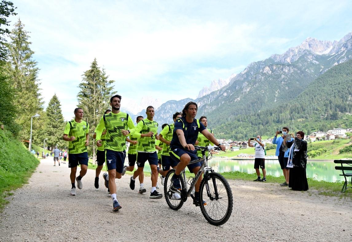 Lazio, la corsa sulle Dolomiti dei ragazzi di Inzaghi