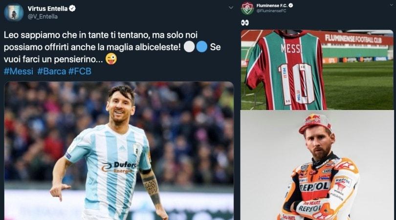 Dalla Virtus Entella ai Chicago Bulls: tutti vogliono Messi