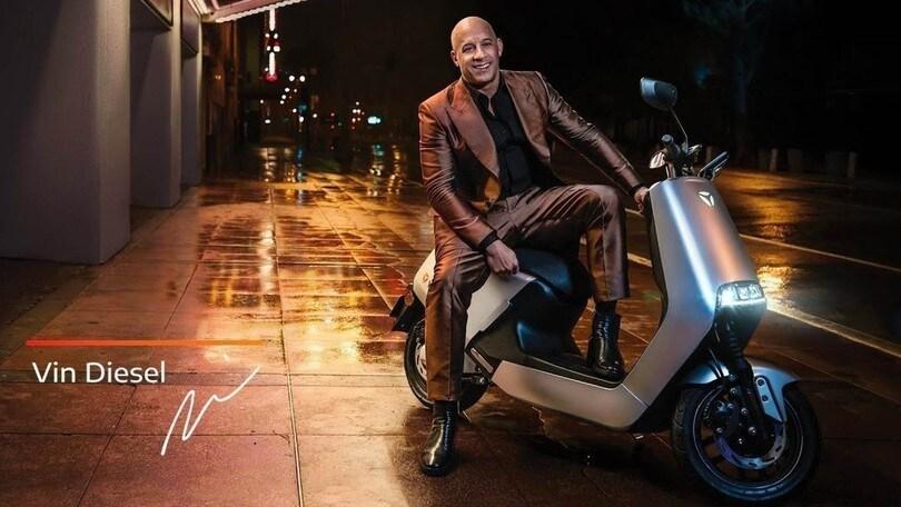 Vin Diesel protagonista dello spot di uno scooter elettrico