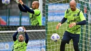 Reina: che grinta! L'allenamento del nuovo portiere della Lazio