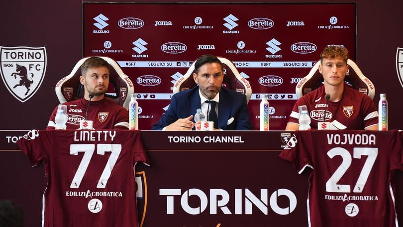 Torino, Linetty e Vojvoda si presentano. Vagnati:
