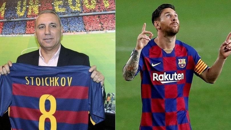 Messi, Stoichkov: