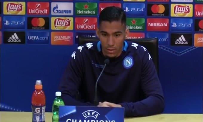Napoli, Allan va all'Everton