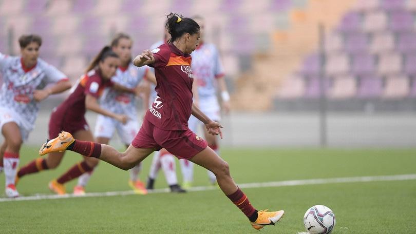 La Roma con l'Empoli gioca l'asso Lazaro, in dubbio Andressa