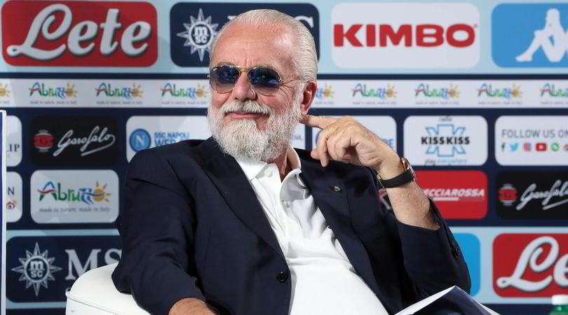 """Napoli, De Laurentiis: """"Koulibaly? Il City non vuole parlare con noi"""""""