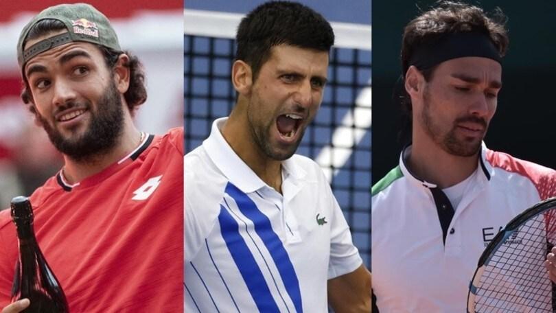 Classifica ATP: Djokovic allunga su Nadal, Fognini scende al 12° posto