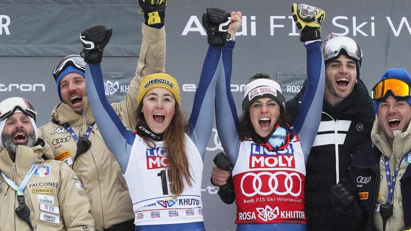 Sci alpino, giovedì test per Brignone e Goggia