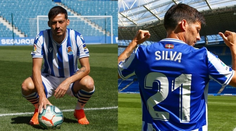 Real Sociedad, David Silva si presenta con la sua 21