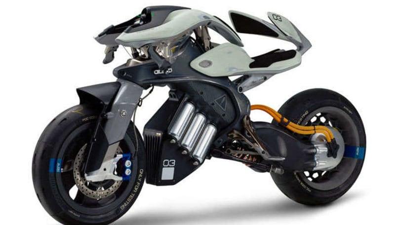 Yamaha sta lavorando a una moto che non cade