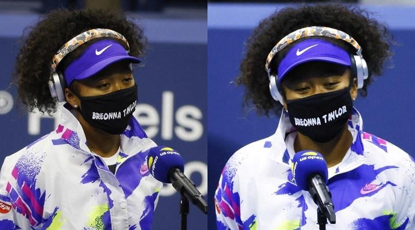 Us Open, la Osaka in campo con la mascherina per Breonna Taylor