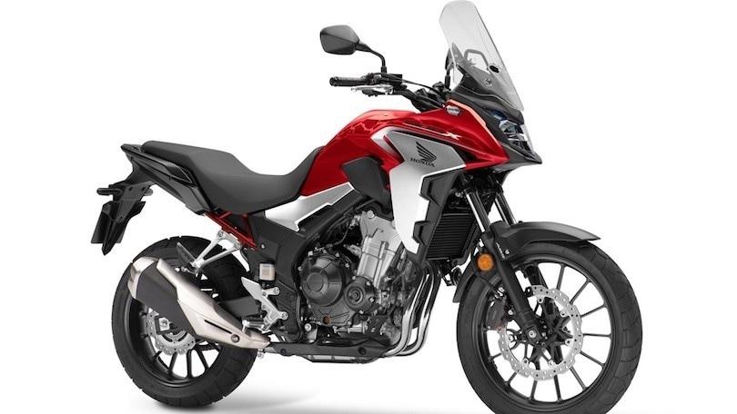 Honda CB500X, con il 2021 nuovi colori e omologazione Euro5