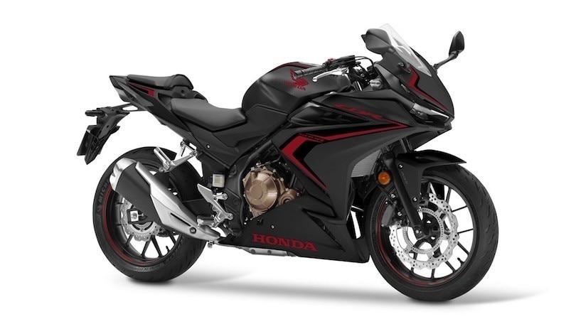 Honda CBR500R: per il 2021 ecco i loghi ristilizzati e l'Euro5